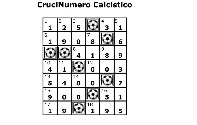 crucinumero-calcistico